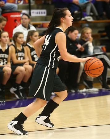 11-22-16<br /> Northwestern vs Western girls basketball<br /> Western's Carlie Ritchie<br /> Kelly Lafferty Gerber   Kokomo Tribune