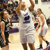 11-22-16<br /> Northwestern vs Western girls basketball<br /> NW's Kora Loer<br /> Kelly Lafferty Gerber | Kokomo Tribune