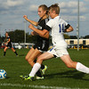 10-4-16<br /> Western vs Kokomo girls soccer<br /> Western's Autumn Brady and Kokomo's Kirstin Pierce go after the ball.<br /> Kelly Lafferty Gerber | Kokomo Tribune
