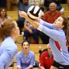 10-18-16<br /> Maconaquah vs Benton Central volleyball<br /> Emily Bowyer<br /> Kelly Lafferty Gerber | Kokomo Tribune