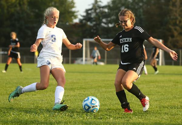 10-4-16<br /> Western vs Kokomo girls soccer<br /> <br /> Kelly Lafferty Gerber | Kokomo Tribune