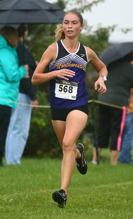 10-1-16<br /> Cross Country <br /> Northwestern's Casey Lechner<br /> Kelly Lafferty Gerber   Kokomo Tribune