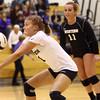 10-20-16<br /> Western vs Northwestern sectional volleyball<br /> Western's Brooke Jansen<br /> Kelly Lafferty Gerber | Kokomo Tribune