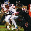 10-28-16<br /> Kokomo vs Huntington North football<br /> Keenen Wheeler tries to break through Huntington North's defense.<br /> Kelly Lafferty Gerber | Kokomo Tribune