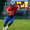 10-7-16<br /> Kokomo vs Harrison football<br /> Kokomo's Steven Edwards runs the ball.<br /> Kelly Lafferty Gerber | Kokomo Tribune