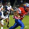 10-7-16<br /> Kokomo vs Harrison football<br /> Kokomo's Keenen Wheeler outruns Harrison to score a touchdown.<br /> Kelly Lafferty Gerber | Kokomo Tribune