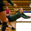 10-12-16<br /> Kokomo vs Eastern volleyball<br /> Eastern's Isabel Kelly dives for the ball.<br /> Kelly Lafferty Gerber | Kokomo Tribune