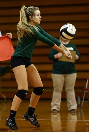10-12-16<br /> Kokomo vs Eastern volleyball<br /> Eastern's Casey Clark<br /> Kelly Lafferty Gerber   Kokomo Tribune