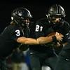 10-21-16<br /> Western vs Mooresville football<br /> Tyler Knepley hands off to Kitchel Gifford.<br /> Kelly Lafferty Gerber | Kokomo Tribune