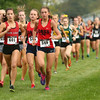 10-1-16<br /> Cross Country <br /> Cass' Miah Martin leads the way with fellow Cass cross country runner Alexis Jackson not far behind.<br /> Kelly Lafferty Gerber | Kokomo Tribune