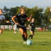 10-6-16<br /> Western vs Marion girls soccer<br /> Western's Jenna Seaman takes control of the ball.<br /> Kelly Lafferty Gerber | Kokomo Tribune