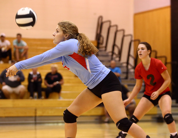10-18-16<br /> Maconaquah vs Benton Central volleyball<br /> Grace Hann<br /> Kelly Lafferty Gerber | Kokomo Tribune