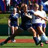 10-8-16<br /> Northwestern vs Lafayette Central Catholic girls soccer sectional<br /> LCC's Emma Gerrety and Northwestern's Mariah Clark battle over the ball.<br /> Kelly Lafferty Gerber | Kokomo Tribune