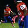 10-7-16<br /> Kokomo vs Harrison football<br /> Kyle Wade looks to make a pass.<br /> Kelly Lafferty Gerber | Kokomo Tribune