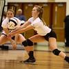 10-22-16<br /> Western vs Benton Central sectional vball championship<br /> Haley Berry passes the ball.<br /> Kelly Lafferty Gerber | Kokomo Tribune