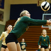 10-12-16<br /> Kokomo vs Eastern volleyball<br /> Eastern's Brooke Haalck.<br /> Kelly Lafferty Gerber | Kokomo Tribune