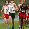 10-1-16<br /> Cross Country <br /> Western's Josh Everetts at the front of the pack.<br /> Kelly Lafferty Gerber | Kokomo Tribune