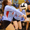 10-18-16<br /> Maconaquah vs Benton Central volleyball<br /> Kirsten Dinn<br /> Kelly Lafferty Gerber | Kokomo Tribune
