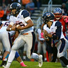 10-7-16<br /> Kokomo vs Harrison football<br /> Harrison's Dawson Dahnke runs the ball.<br /> Kelly Lafferty Gerber | Kokomo Tribune