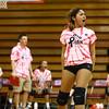 10-12-16<br /> Kokomo vs Eastern volleyball<br /> Kokomo's Alliyah Hochstedler celebrates after a point.<br /> Kelly Lafferty Gerber | Kokomo Tribune