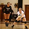 10-22-16<br /> Western vs Benton Central sectional vball championship<br /> Chase Epp passes the ball.<br /> Kelly Lafferty Gerber | Kokomo Tribune