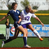 10-8-16<br /> Northwestern vs Lafayette Central Catholic girls soccer sectional<br /> LCC's Emma Bullock and Northwestern's Olivia Hale.<br /> Kelly Lafferty Gerber | Kokomo Tribune