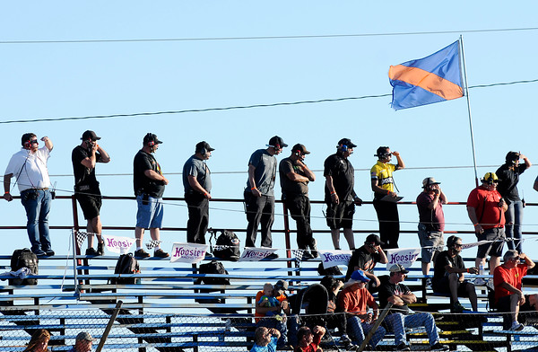 Don Knight   The Herald Bulletin<br /> Redbud 300 at the Anderson Speedway on Saturday.
