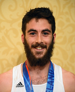 Oberlin College student Sam Coates-Finke earned an early graduation present Sunday when he won the 2016 Rite Aid Cleveland Half Marathon with a time of 1:12:40. BILL KEATON/CHRONICLE