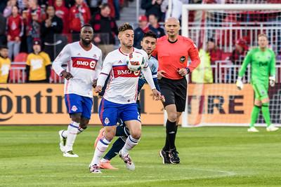 FUSSBALL - MLS 2016: Toronto FC v Vancouver Whitecaps FC - 14-05-2016