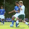 9-1-16<br /> Eastern vs Frankfort soccer<br /> Eastern's Luke Swartzendruber and Frankfort's Raphael Morales.<br /> Kelly Lafferty Gerber | Kokomo Tribune