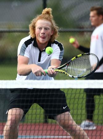 9-28-16<br /> Western sectional tennis<br /> 1 doubles Chad Gifford<br /> Kelly Lafferty Gerber | Kokomo Tribune