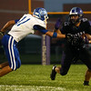 9-23-16<br /> Northwestern vs Tipton football<br /> Northwestern's Evan Cardwell runs the ball out of reach of Tipton.<br /> Kelly Lafferty Gerber | Kokomo Tribune