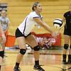 9-27-16<br /> Western vs Northwestern volleyball<br /> Northwestern's Morgan Mercer<br /> Kelly Lafferty Gerber | Kokomo Tribune