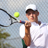 Boys Tennis between WHS and EHS on September 7, 2016.<br /> EHS tennis #1 Ryan Mandred<br /> Tim Bath | Kokomo Tribune