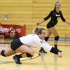 9-27-16<br /> Western vs Northwestern volleyball<br /> Western's Emily Jones<br /> Kelly Lafferty Gerber | Kokomo Tribune