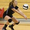 9-27-16<br /> Western vs Northwestern volleyball<br /> Northwestern's Klair Merrell<br /> Kelly Lafferty Gerber | Kokomo Tribune