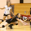 9-27-16<br /> Western vs Northwestern volleyball<br /> Northwestern's Jenna Goodspeed<br /> Kelly Lafferty Gerber | Kokomo Tribune