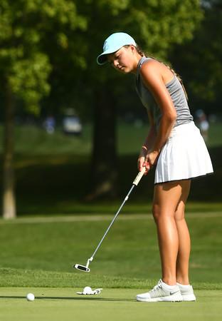 9-6-16<br /> Western vs Kokomo girls golf<br /> Western 3 Lauren Tuchscherer<br /> Kelly Lafferty Gerber   Kokomo Tribune