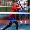 9-29-16<br /> Boys tennis sectional<br /> Kokomo 1 doubles Grant Patterson<br /> Kelly Lafferty Gerber | Kokomo Tribune