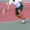 Boys Tennis between WHS and EHS on September 7, 2016.<br /> EHS tennis #3 Manny Moreno<br /> Tim Bath | Kokomo Tribune