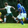 9-1-16<br /> Eastern vs Frankfort soccer<br /> Eastern's Cole Walker.<br /> Kelly Lafferty Gerber | Kokomo Tribune