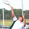 Boys Tennis between WHS and EHS on September 7, 2016.<br /> EHS tennis #3 Manny Moreno<br /> Tim Bath | Kokomo Tribune
