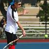 9-29-16<br /> Boys tennis sectional<br /> Western 1 doubles John Sullivan<br /> Kelly Lafferty Gerber | Kokomo Tribune