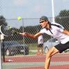 Boys Tennis between WHS and EHS on September 7, 2016.<br /> Western HS tennis #2 John Sullivan<br /> Tim Bath | Kokomo Tribune