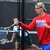 9-29-16<br /> Boys tennis sectional<br /> Kokomo 2 doubles Nate Hemmerich<br /> Kelly Lafferty Gerber | Kokomo Tribune