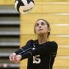 9-27-16<br /> Western vs Northwestern volleyball<br /> Western's Alexis Dukes<br /> Kelly Lafferty Gerber | Kokomo Tribune
