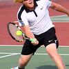 Boys Tennis between WHS and EHS on September 7, 2016.<br /> Western HS tennis #3 Chad Gifford<br /> Tim Bath | Kokomo Tribune