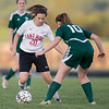 ERHS' Erin Clayton matches up against Wilson's Addison Tuttle