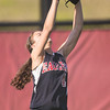 ERHS' Alexis Brown cathes a fly ball