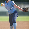 Sabrina Foltz pitches against East Rockingham